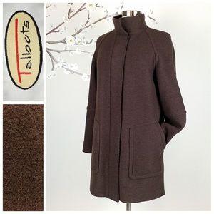 Talbots   Italian Wool Stadium Coat